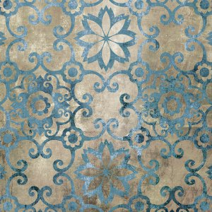 Moroccan Blue Pattern